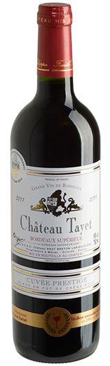 Château Tayet Cuvée Prestige 2011 De Mour
