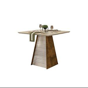 Mesa de Jantar Fler para 4 lugares várias cores - Dj Móveis