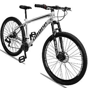 Bicicleta Aro 29 Dropp Sport 21v Câmbio Traseiro Shimano com Suspensão