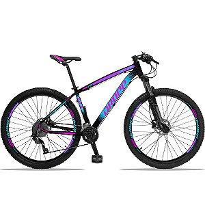 """Bicicleta Aro 29 Z4x 2x9 Shimano Freio a Disco Hidráulico Suspensão com Trava no Guidão - Quadro 15"""""""
