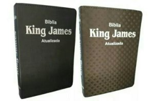 Bíblias king James- Kit com 2 Bíblias