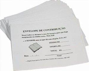 Envelope De Dízimo Mensal