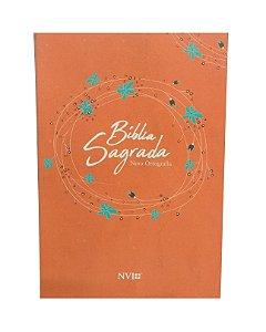 Bíblia NVI- Capa Brochura- Laranja