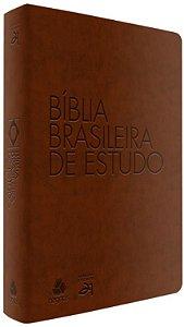 Bíblia Brasileira de Estudo- Marrom