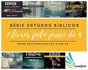 KITBOX1- Sete Livros da Série Estudos Bíblico