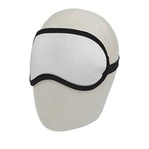 Máscara de Dormir Extra Branco para Sublimação Neoprene 3mm (1.E001) - 10 Unidades