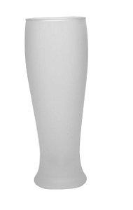 Copo Chopp Tulipa de Vidro Jateado Fosco Para Sublimação 325ml (3418) - 01 Unidade