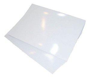 Vinil Adesivo Branco Para Sublimação Tamanho A3 (288) Para Tinta Sublimática - 01 Folha