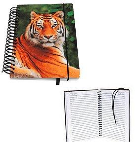 Agenda Pautada Capa Laminado de PVC Para Sublimação - 14x19 cm (150 páginas - 75 folhas) - Não Datada