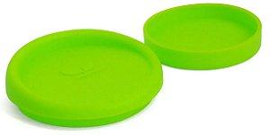 Tampa Silicone P/ Canecas - 9 Cm D - Verde Neon (2258) - 01 Unidade