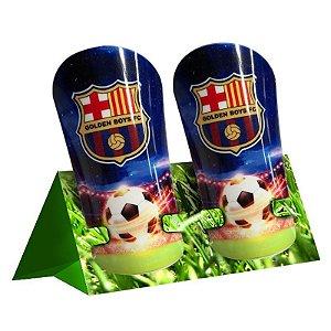 Suporte de Caneleira de Futebol (2364) - Pacote com 10 Unidades