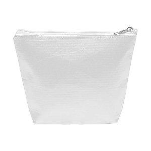 Necessaire Branca para Sublimação 20x15cm Tecido Oxford