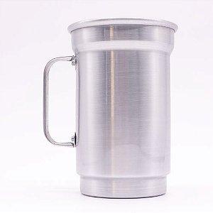 Caneca de Alumínio para Sublimação Brilhante 750ml - 01 Unidade (AL4014)