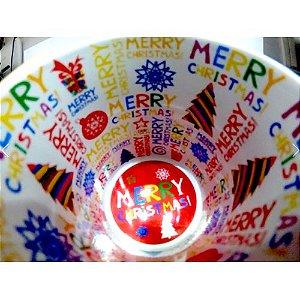 Caneca Cerâmica Branca Motto Mug - Feliz Natal 325 ml ShopVirtua3000® (578) - 36 Unidades (Caixa Fechada)