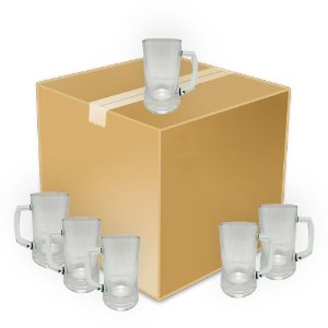 Caneca Chopp Vidro - 400ml - Crystal (1070) - 24 Unidades (Caixa Fechada)