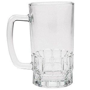 Caneca Sublimática de Vidro Cristal Tipo Chopp Beer Mug 500ML ShopVirtua3000® (201) - 01 Unidade