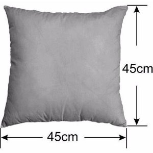 Enchimento Fibra Siliconada Especial Antialérgica para Almofada Sublimática 45x45 cm