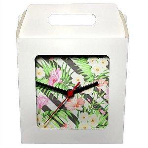 Caixinha Branca Para Azulejo ou Relógio 15x15 cm (PH040) - 01 Unidade