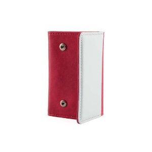 Porta Chaves Sublimático Couro Rosa ShopVirtua3000 (C066) - 01 Unidade