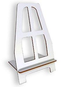 Suporte Cavalete Branco para Placa em Mdf ou Azulejo de até 20x20 (PH1603) - 01 Unidade