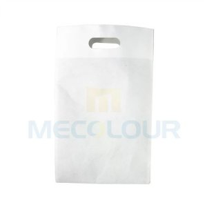 Sacola Sublimática ECOLÓGICA ECOBAG 100% Em Tecido Pequena Tamanho 25x40 Cm Branca Mecolour (C080) - 01 Unidade