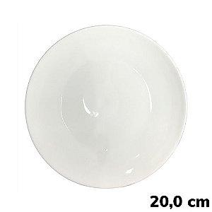 Prato Sublimático Branco - 20cm (B051) - 01 Unidade