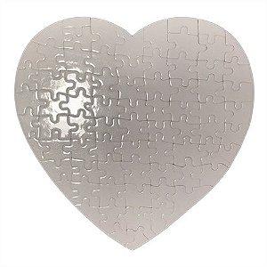 Quebra Cabeças Perola 75 peças Coração 19x19cm (P26 - C017) - 01 Unidade