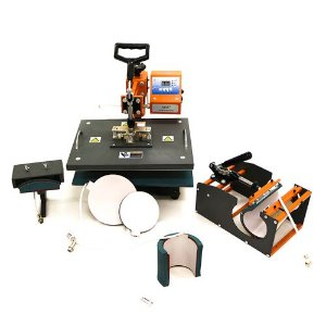 Prensa Térmica Premium Mecolour Multifuncional 8 em 1 P/Sublimação 110 Volts (A008) - 01 Unidade