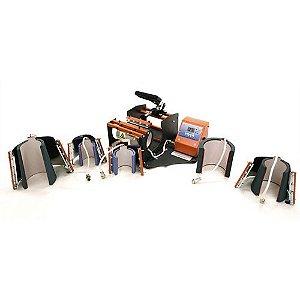 Prensa Térmica 6x1 Premium Mecolour P/Sublimação de Caneca Cilindrica e Cônica 110 Volts (A004)