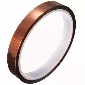 Fita Adesiva Térmica Suporta até 300 graus Tamanho 8mm x 33m para sublimação (2040) - 01 Unidade