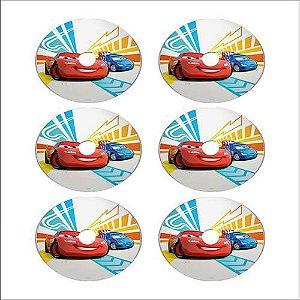 Etiqueta Para Mini CD/DVD C/100 Folhas A4 Fosca C/6 etiquetas por folha