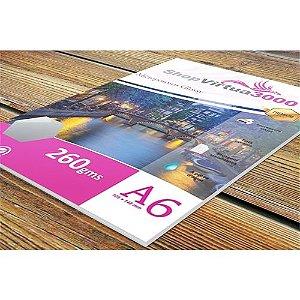 Papel Fotográfico Quality Microporus Satin 260g/m² - 10x15 cm (P029) - 100 folhas