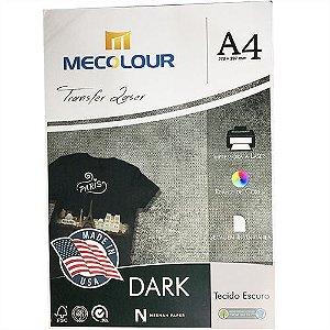 Papel Transfer Laser Dark 100g Mecolour - A4 (P059) - 100 folhas
