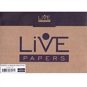 Papel Laser Medical Live 110g A4 p/ Raio-X - Pasta 240 Folhas (000585)