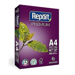Papel Sulfite Report Premium A4 90g/m2 (500 Folhas) - 01 Unidade