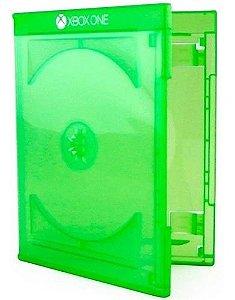 Box DVD Simples Tradicional Videolar Verde c/ selo X-Box One - 01 Unidade