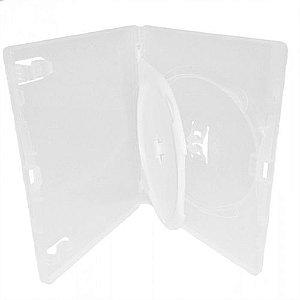 Box DVD Duplo Tradicional Amaray Crystal (Sony) - 100 Unidades