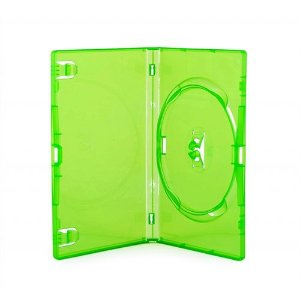 Box DVD Simples Tradicional Amaray Verde - 01 Unidade