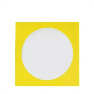 Envelope papel janela Acetato Amarelo - 1000 Unidades