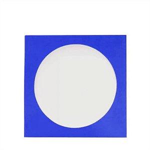 Envelope papel janela Acetato Azul - 100 Unidades