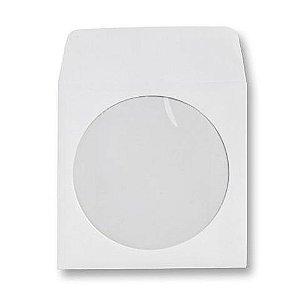 Envelope papel janela Acetato Branco - 100 Unidades