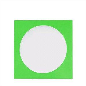 Envelope papel janela Acetato Verde - 100 Unidades