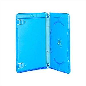 Box Blu-Ray Tradicional Simples Azul Com Selo Blu Ray (Videolar) - 01 Unidade
