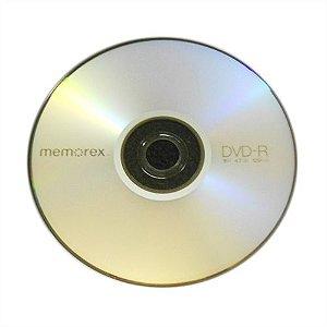 DVD-R Memorex 16X 4.7GB C/Logo - 01 Unidade