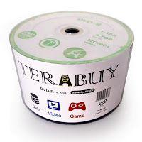 DVD-R Terabuy 16X 4.7GB C/Logo - 50 Unidades (Shrink Lacrado)