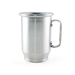 Caneca de Alumínio para Sublimação Brilhante 600ml - 12 Unidades (Caixa Fechada) (AL4010)
