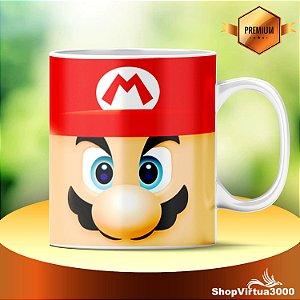 Caneca Cerâmica Classe +AAA Personalizada Super Mario Bros - 01 Unidade