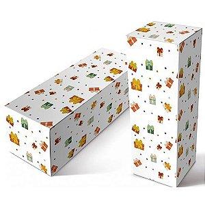 """Caixinha para Squeeze de Material Papelão Resistente Modelo """" Presente''  para Squeeze de 350 Ml (2009) -  01 Unidade"""