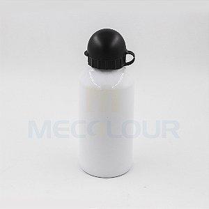 Squeeze Branco 500ml em Alumínio C/biqueira e tampa P/Sublimação (B121) - 01 Unidade