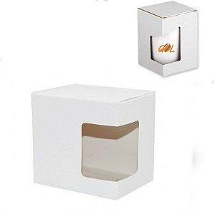 Caixa Cor Branca de Papelão Para Canecas (1107) - 01 Unidade